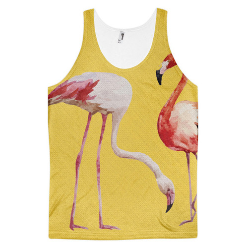 Flamingo Classic fit tank top (unisex)