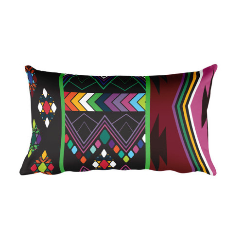 Aztec Rectangular Pillow