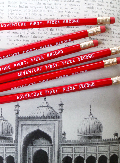Adventures and Pizza Pencil 6 Pack