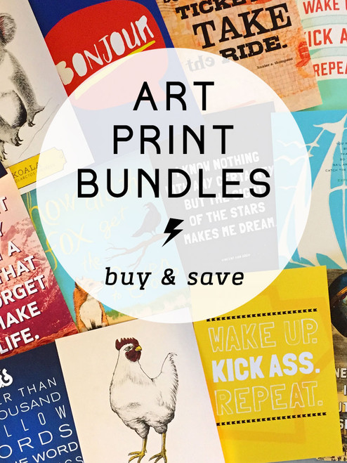 11x14 MIX Art Print Bundle