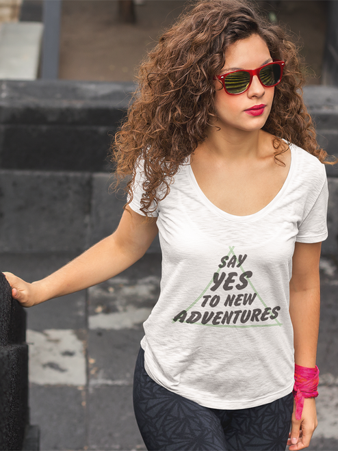 Get in my suitcase! Love this tee!