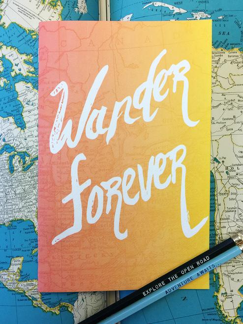 Wander Large Sketchbook, Travel Journal
