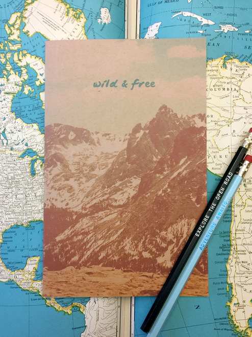 Wild and Free Rocky Mountain Sketchbook