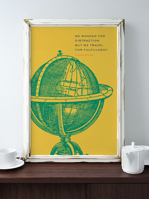 Awesome Adventure Wall Art. via Earmark Social Goods