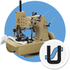81500E Heavy Geotextile Butt Seam Machine (New in MFG Box)