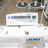 Juki DLN-9010A-SH Single Needle, Needle Feed, Direct Drive (Setup with Table, & Stand)
