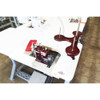 Merrow MG-2DNR-1 Rolled/Pearl Hemmer (Setup on Table with Motor & Stand)