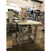 Juki MS-3580 SG1SN  Three Needle, differential feed off-the-arm machine (Complete with Table, Motor & Stand)