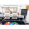 GEM 1502 - 15 Needle 2 Head Bridge Embroidery Machine (Financing Available with approval)