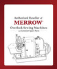 Merrow MG-3UV   Velcro sewing Edging (Complete with Table, Motor & Stand)