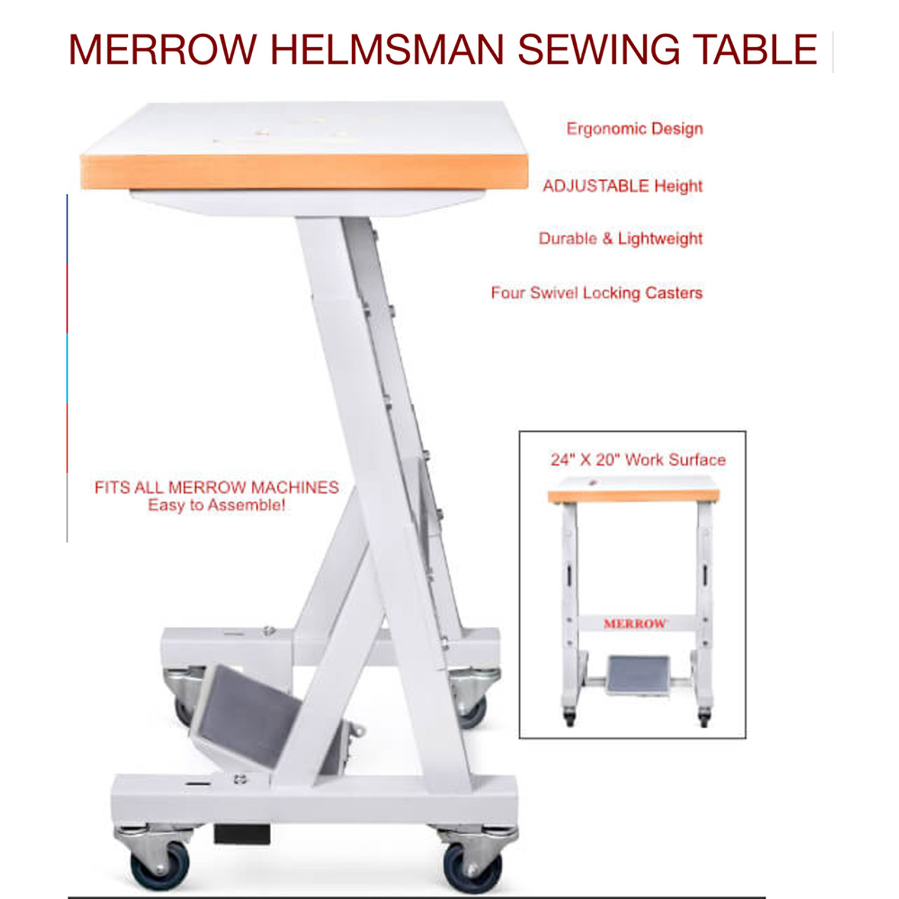 Helmsman Compact Sewing Table