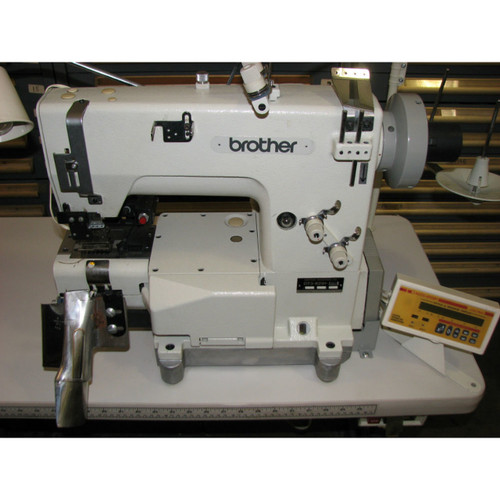Used Brother DT3-B291-060-8 (with table, motor & stand)