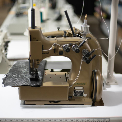 Union Special 80200Z2715ABLZ-CSM Heavy Duty Geotextile Sewing Machine with Heavy Duty Puller