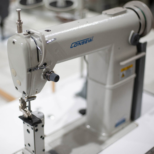 Consew 228R-11-1 High Speed, Post Type, Single Needle, Drop Feed, Lockstitch Machine
