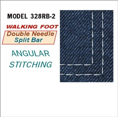 Consew 328RB-2 Split Needle Bar, Unison feed, Walking foot (New in MFG Box)