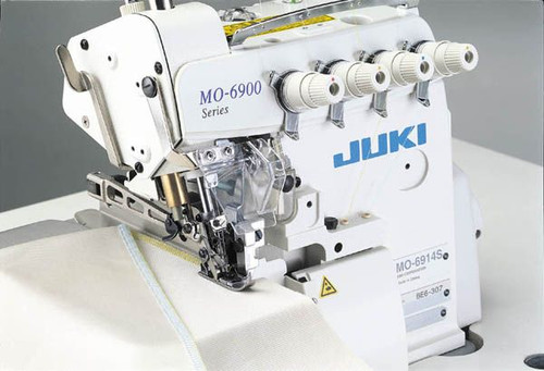Juki MO-6904S High Speed 3 thread serger (setuo with table motor & stand.