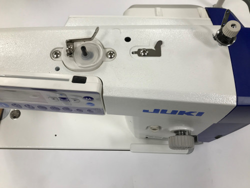 Juki DDL-8000A Single Needle drop feed with under-trimmer (Setup on table)