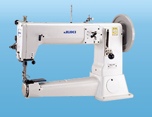 Juki TSC-441U Heavy duty cylinder arm Unison Feed (walking foot) machine (with large table, motor & stand)