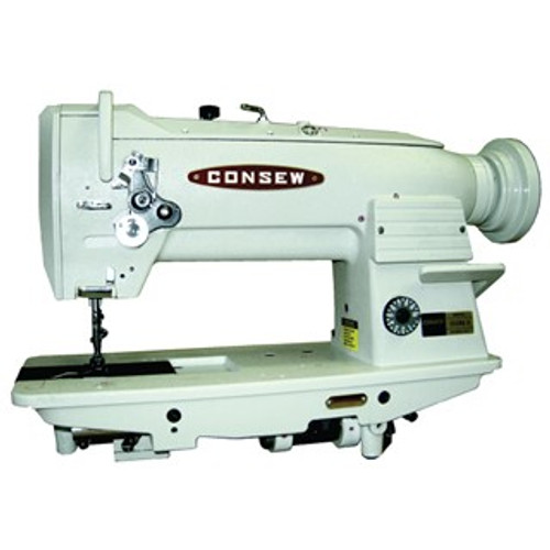 Consew 255RB-3 Single Needle, Unison feed (walking foot) with manual foot lift (New in MFG Box) Upholstery Sewing Machine