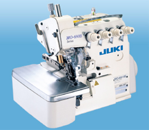 MO-6914S BE6307 Double needle 4-thread overlock machine for runstitching (with table, motor & stand)