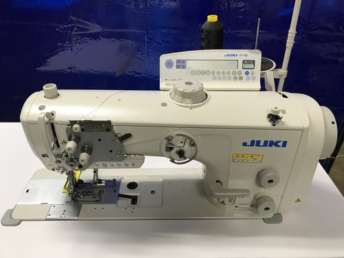 Juki LU-2810A70BSS-DA-Z Single Needle walking Foot (Setup with table, motor & stand)