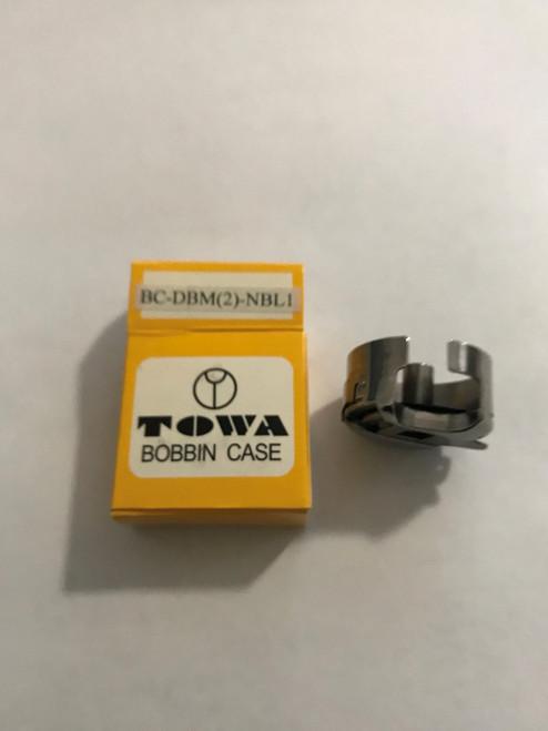 Towa Bobbin Case # BC-DBM(2)-NBL1 (fits models Consew 206RB & Seiko  STH-8BLD-3)