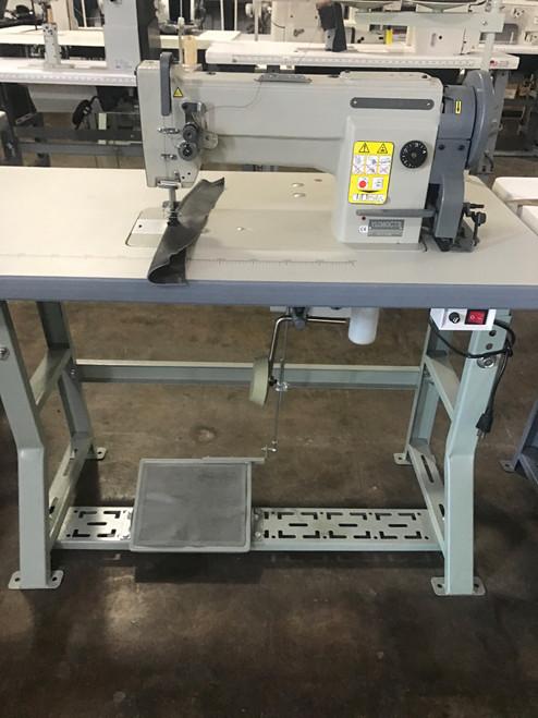 Mitzi YU360CTS Single Needle Unison feed walking foot machine (with table motor & Stand)
