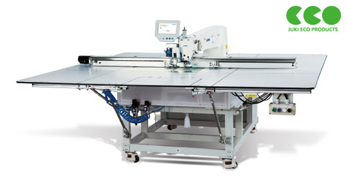 Juki PS800-SB-8045-AKX Pattern Seamer with Rotary knives (Setup with table and stand)