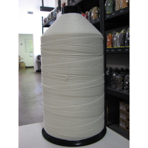 Case (50 spools) of 277 Polyester Bonded White Thread One Pound Spools
