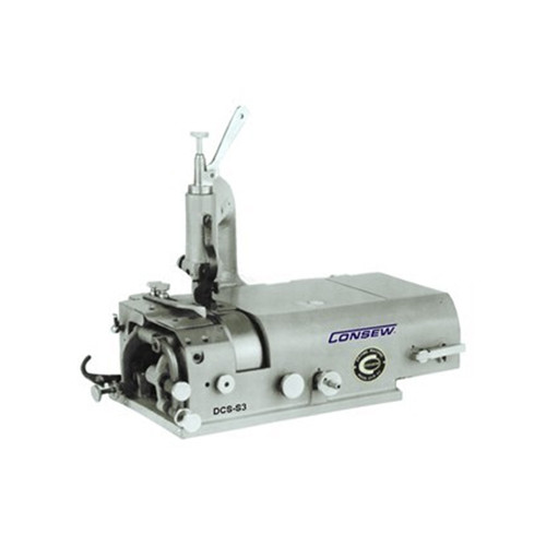 Consew DCS-S4 Leather Skiving Machine (Setup with Table, Motor & Stand)