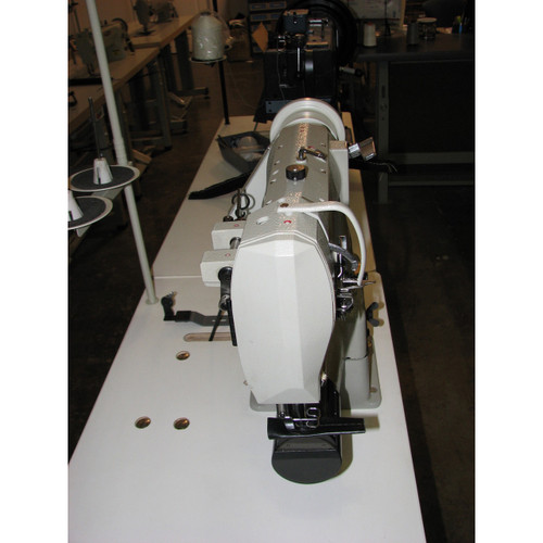 Consew 287RB-2 Single Needle Cylinder Arm walking foot (Complete with Table, Motor & Stand)