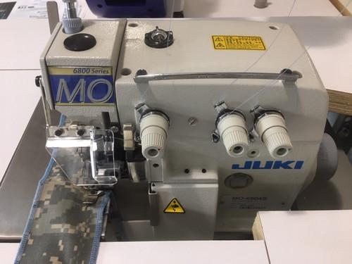 Juki MO-6804S 0E430H Serger 3-thread overlock (Setup with table, motor & stand)