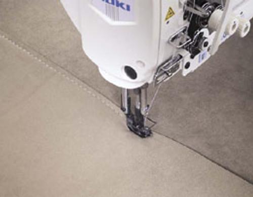 Juki  LU-1510N-7 Single Needle walking foot  machine, auto foot lift & reverse  (With table, motor & stand)