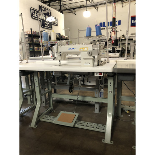 DDL-5550N Single Needle drop feed (Setup complete with table, motor & stand)