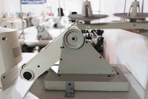 Used Juki MS-1190 (Setup with Motor, Off-the-arm Table type & Stand)