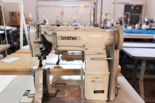 Used Brother LT5-P56-050 (Complete with Table, Motor & Stand)