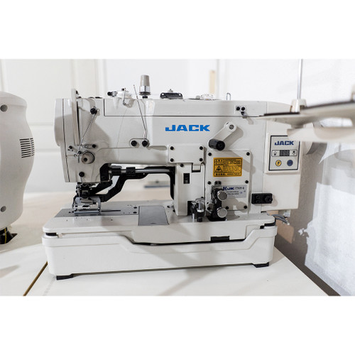 Jack JK-T782E-Q (Setup with Table, Motor & Stand) Direct Drive, Button Hole