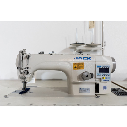 JK-Shirley IIE Single Needle drop feed machine (Complete with Table, Motor & Stand)