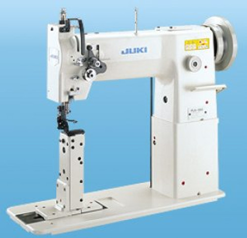 Juki PLH-981U Single Needle drop feed post-bed machine (with table, motor & stand)