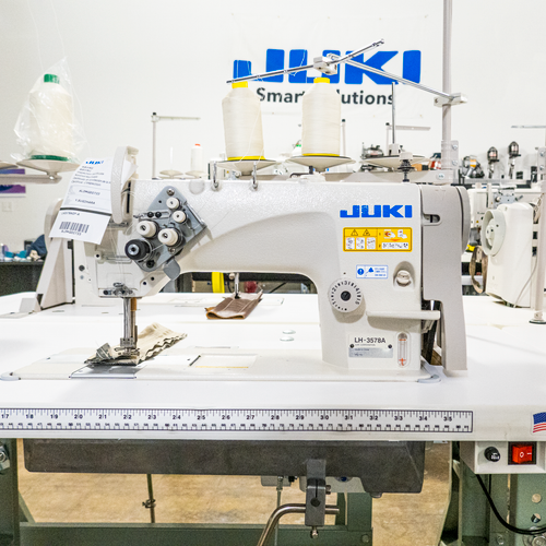 Juki LH-3578 AGF Double Needle Needle Feed Lock-stitch Industrial Sewing Machine
