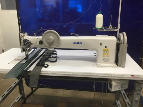 Juki LG-158-1U Single needle Long-arm, Unison-feed, Lockstitch Machine with Vertical-axis Large Hook