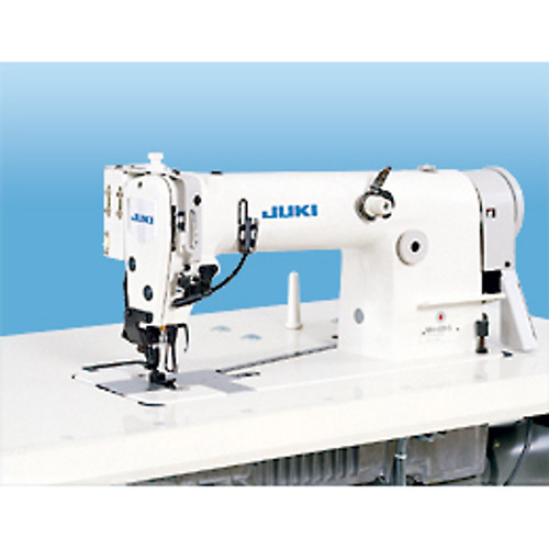 Juki MH-484-54U (Electronic Version) Single needle, Double Chainstitch Differential-feed Machine With automatic thread trimmer (Setup with table, motor & Stand)