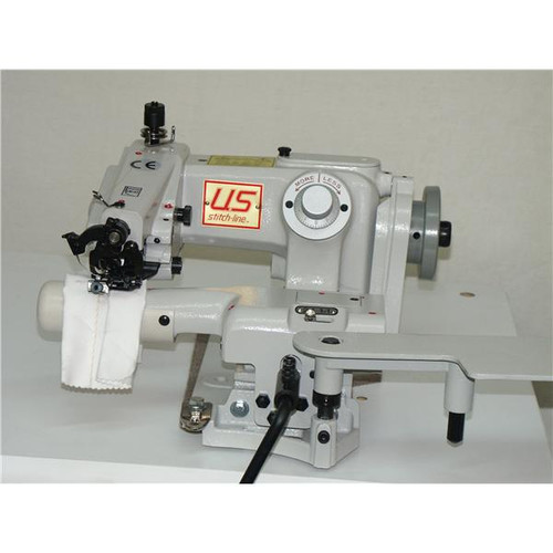 US Stitch-Line SL718-2 Blind stitch (Setup with table, motor & Stand)