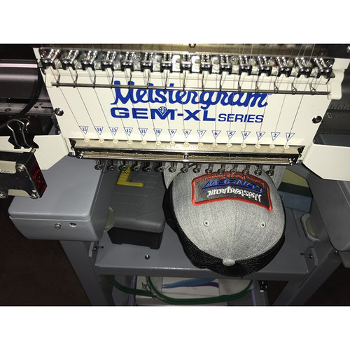 Meistergram GEM-XL/510 Embroidery Machine (Financing Available with Approval)