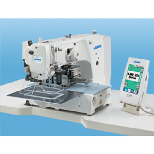 Juki AMS-210ENHL-1510 Programmable Pattern tacker (Setup with table, Servo motor & stand)
