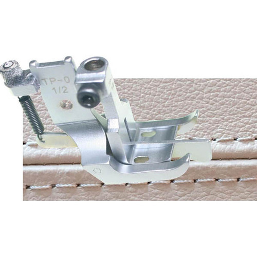 "TP-1/2"" Top Stitching Presser Foot Set w/ Compensating Center Guide"