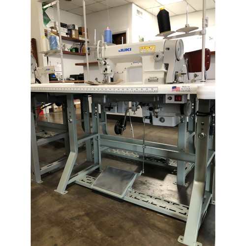 Juki DLN-5410NH Single Needle, Needle Feed (Setup with Table, motor & Stand)