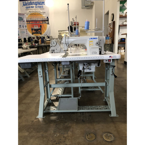 Juki DDL-8700 single needle, Lockstitch Machine (Setup with table, motor & stand)