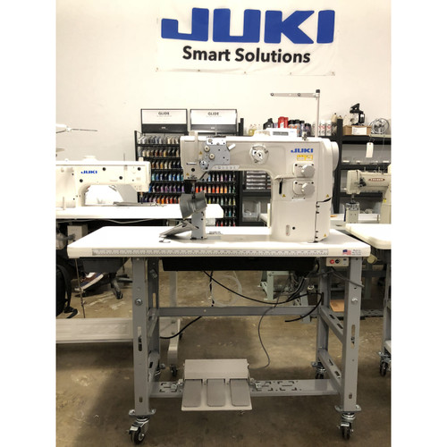 PLC-2710-7 single-needle Post Bed with under-trimmer (Unison-feed Lockstitch Machine)