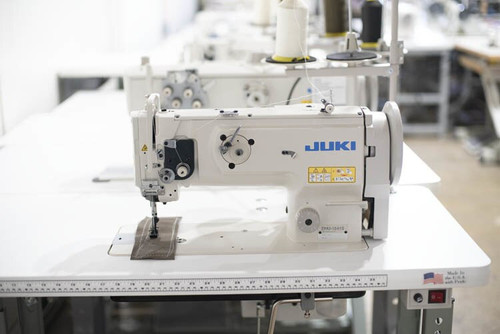 Juki DNU-1541S   Single Needle Walking foot (Setup complete with table, motor & stand)